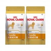 法国皇家ROYAL CANIN 贵宾成犬粮500g*2包 PD30