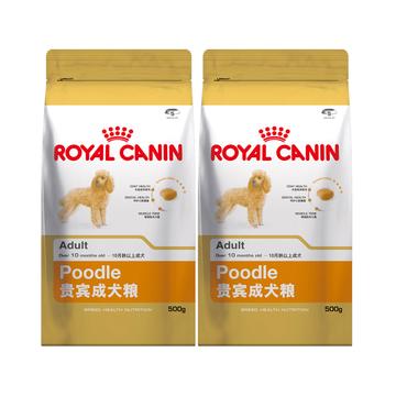 法国皇家ROYAL CANIN 贵宾成犬粮500g*2包 PD30 小图 (0)