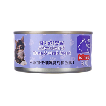 珍味 金枪鱼蟹肉猫罐头湿粮 170g 小图 (0)