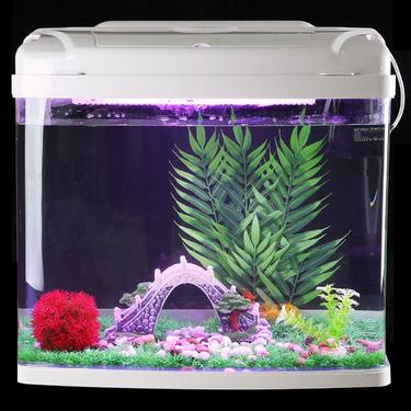 聚寶源造景套餐 造景裝飾套餐水草假山40~60cm魚缸通用(不含缸)