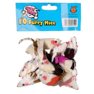 田田猫 兔皮老鼠(10只装) 小图 (0)