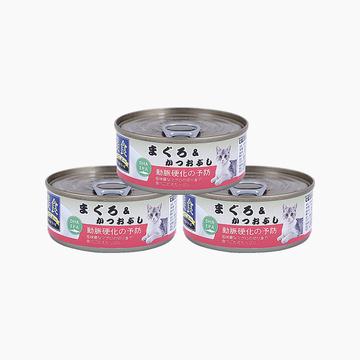爱丽思Iris 金枪鱼口味猫罐头湿粮 100g*3罐 小图 (0)
