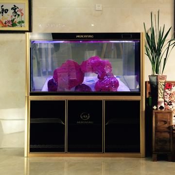 闽江鱼缸水族箱中型1米封闭式水族箱大型玻璃生态鱼缸方形下过滤 小图 (0)