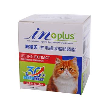 麦德氏inplus 猫用护毛超浓缩卵磷脂225g 改善肤质亮泽毛发 小图 (0)