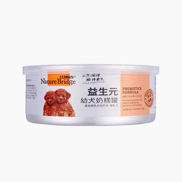 比瑞吉 益生元幼犬粮奶糕罐头狗湿粮 156g 小图 (0)