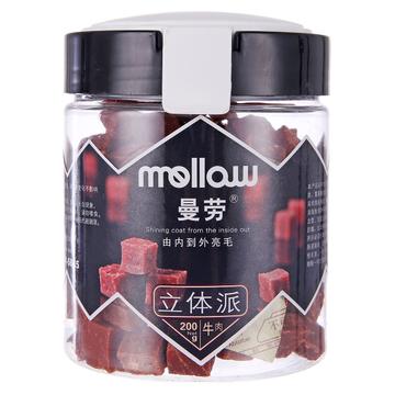 曼劳 立体派牛肉口味200g 训练 奖励 狗零食 小图 (0)