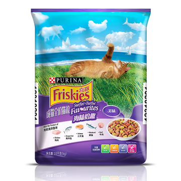 喜跃 成猫粮肉和海洋鱼味全价猫粮10kg 小图 (0)