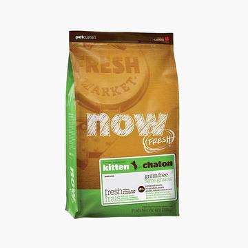 NOW FRESH 无谷配方幼猫粮 8磅 加拿大原装进口 小图 (0)