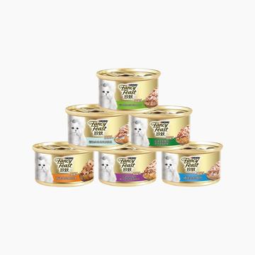 珍致 尊享装猫罐头85g*6罐 猫湿粮 小图 (0)