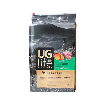优基UG 鸭肉燕麦能量果配方小型犬全价成犬粮 10kg 小图 (0)