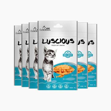 路斯 鲷鱼猫薄荷 35g*6 去毛球助消化猫零食 小图 (0)