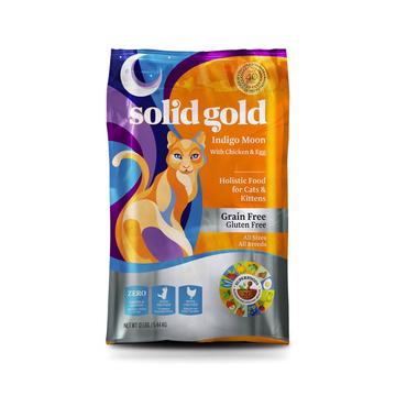素力高Solid Gold 无谷物抗敏配方全猫粮 12磅/5.44kg 小图 (0)