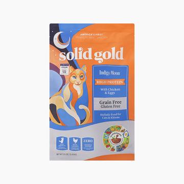 素力高Solid Gold 无谷物抗敏配方全猫粮 12磅/5.44kg 美国进口 小图 (0)