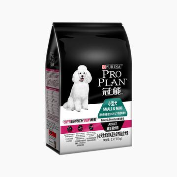 冠能PROPLAN 小型犬成犬挑食及美毛配方全价狗粮2.5kg 小图 (0)
