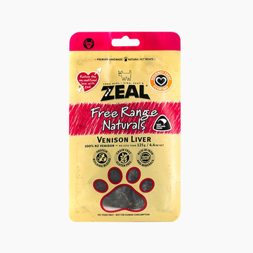 真致Zeal 天然风干肉类零食鹿肝片 125g 狗零食 新西兰进口 【有效期12-15个月】 小图 (0)