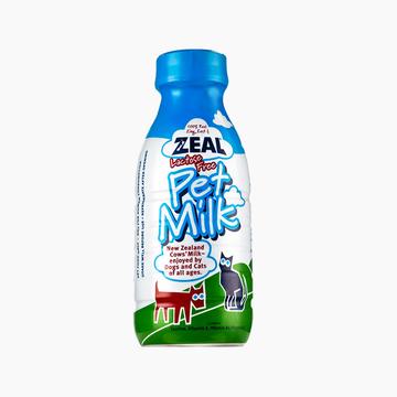 zeal真挚 天然犬猫专用鲜牛乳380ml 新西兰进口猫狗零食 小图 (0)