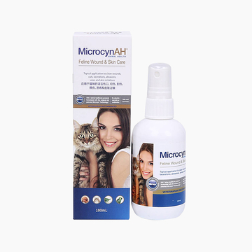 麦高臣 猫咪专用神仙水 100ml 伤口及皮肤护理 美国进口 小图 (0)