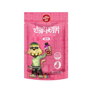 顽皮Wanpy Happy100鸡肉切片猫条猫零食 25g 小图 (0)