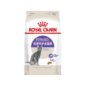法国皇家ROYAL CANIN 绝育呵护成猫粮400g SA37 小图 (0)