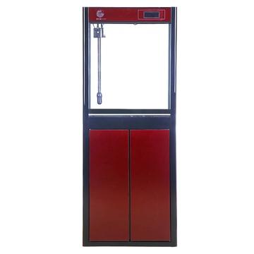 聚宝源直角龙鱼缸JS-600上滤-60cm酒红(缸+柜子) 小图 (0)