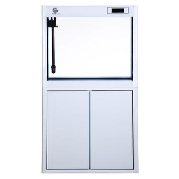 聚宝源直角龙鱼缸JS-1000上滤-1M白色(缸+柜子) 小图 (0)