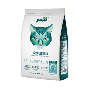 怡亲Yoken 去毛球成猫粮 2.5kg 小图 (0)