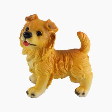 多拉乐 树脂仿真狗柯利犬模型 装饰摆件 小图 (0)