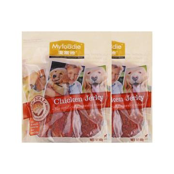 麦富迪 高品质鸡胸肉400g*2 训练 奖励 狗零食 小图 (0)