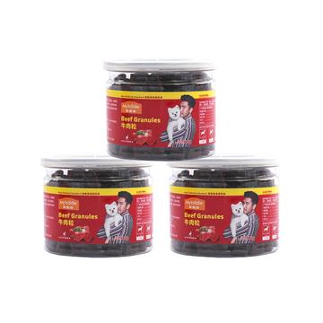 麦富迪 奢华营养塑罐装牛肉粒180g*3 训练 奖励 狗零食(新老包装随机发货) 小图 (0)