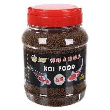 锦跃锦鲤饲料育成500克中粒瓶装 小图 (0)