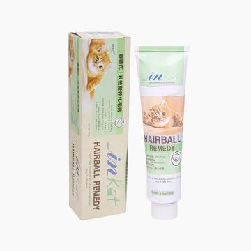 麦德氏inKat 猫用双效营养化毛膏 120g 帮助猫咪毛球排出 小图 (0)
