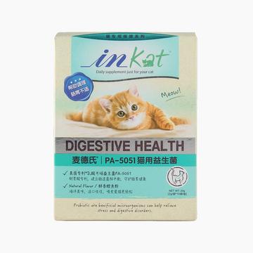 麦德氏inKat 猫用益生菌 20g 肠道调理助消化吸收毛球排出 小图 (0)