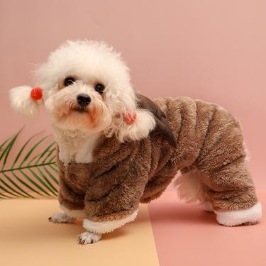 伊丽Elite  网红变身装宠物衣服秋冬款 狗衣服