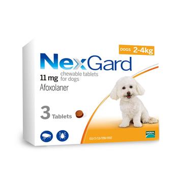 尼可信小型犬抗寄生虫药3片/盒(2-4KG犬用) 小图 (0)