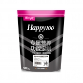 顽皮Happy100贵宾犬成犬全价粮去泪痕配方0.38kg(新老包装随机发货)