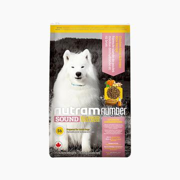 加拿大纽顿nutram 低敏系列中大型成犬粮去骨鸡肉糙米狗粮11.4kg S6原装进口粮 小图 (0)
