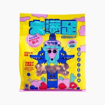 句句兽 大满足系列冻干鲜果综合肉脆片狗零食 400g 小图 (0)