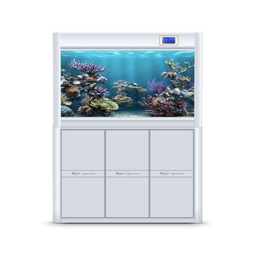 聚宝源 大型成品鱼缸KR-1000S白色 小图 (0)