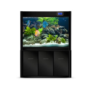 聚宝源 大型成品鱼缸KR-1200HD黑色 小图 (0)