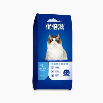 优倍滋 海洋鱼味全猫种全期猫粮 10kg 小图 (0)