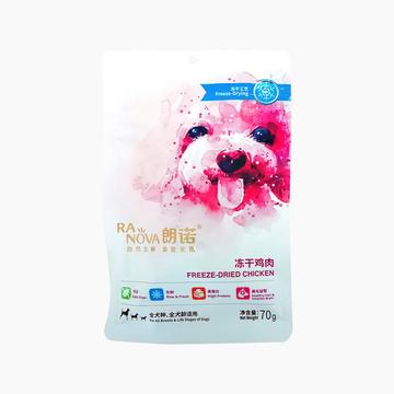 朗诺 冻干鸡肉肉粒奖励狗零食 70g 富含82%高蛋白 小图 (0)