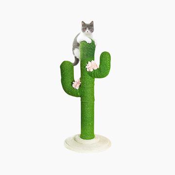 未卡Vetreska 北欧风仙人掌创意猫爬架猫咪磨牙磨爪猫跳台猫玩具 小图 (0)