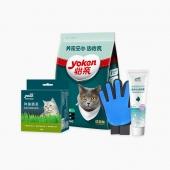 怡親Yoken 無毛球套裝 成貓幼貓控毛球調理腸胃貓主糧