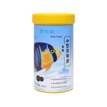 聚宝源 小型鱼热带鱼鱼粮0.6mm颗粒 240ml 小图 (0)