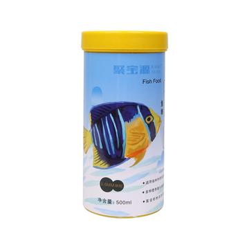 聚宝源 小型鱼热带鱼鱼粮0.6mm颗粒 500ml 小图 (0)