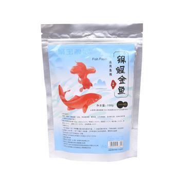 聚宝源 锦鲤金鱼通用鱼粮育成2mm颗粒 150g 小图 (0)