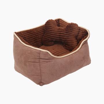 怡亲Yoken  狗用咖啡宠物柔暖窝 窝垫分离 小图 (0)