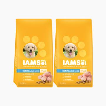 爱慕思 鸡肉口味大型犬幼犬专用犬粮 2kg *2包 小图 (0)