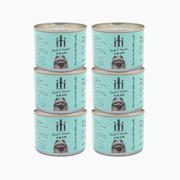 新西兰爱娣iti Pet 羊肉鹿肉主食狗罐头 175g*6罐 90%含肉量 小图 (0)