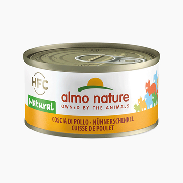 Almo Nature 天然系列鸡腿猫罐头 70g 小图 (0)